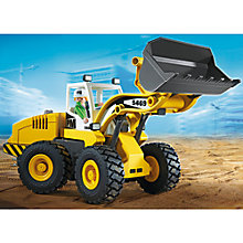 Buy Playmobil City Action Large Front Loader Online at johnlewis.com