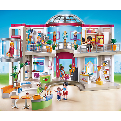 Click here for Playmobil City Life Shopping Mall