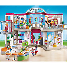 Buy Playmobil City Life Shopping Mall Online at johnlewis.com