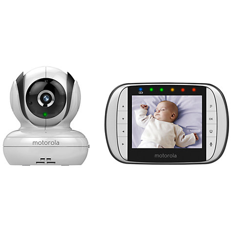 buy motorola mbp 36s digital video baby monitor john lewis. Black Bedroom Furniture Sets. Home Design Ideas
