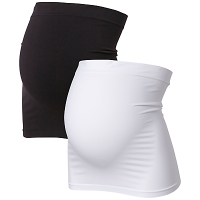 Product photo of Mamalicious cara cotton bump band pack of 2 black white