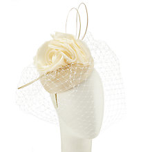 Buy Snoxells Willa Pillbox Occasion Hat, Ivory Online at johnlewis.com
