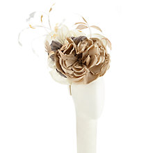 Buy Snoxells Bels Rose Pillbox Occasion Hat, Cream Online at johnlewis.com