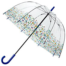 Buy John Lewis Archive Birdcage Umbrella, Clear Online at johnlewis.com