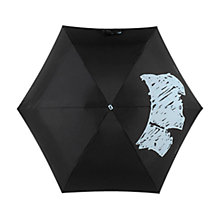 Buy Radley Scribble Dog Umbrella, Black Online at johnlewis.com