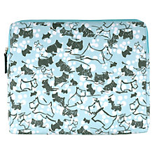 Buy Radley Cherry Blossom Dog iPad Cover, Blue Online at johnlewis.com