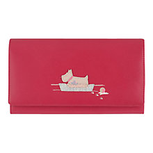 Buy Radley Forty Winks Large Leather Flapover Purse Online at johnlewis.com