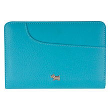 Buy Radley Medium Leather Pocket Bag Purse, Turquoise Online at johnlewis.com