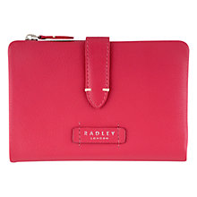 Buy Radley Tetbury Leather Medium Tab Purse Online at johnlewis.com