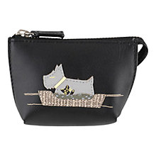 Buy Radley Forty Winks Leather Coin Purse Online at johnlewis.com