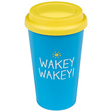 Buy Happy Jackson Wakey Wakey Travel Mug Online at johnlewis.com