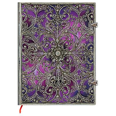 Paperblanks Filigree Aubergine Ultra Journal
