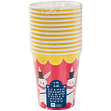 Buy Talking Tables Magic Party Cups, Pack of 12 Online at johnlewis.com