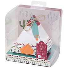 Buy Talking Tables Pow Wow Party Treat Boxes, Pack of 6 Online at johnlewis.com