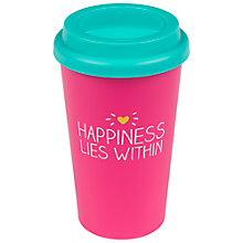 Buy Happy Jackson Happiness Travel Mug Online at johnlewis.com