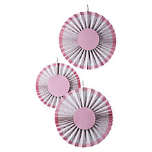 Buy Ginger Ray Boy or Girl Decorations, Pink Spot Online at johnlewis.com