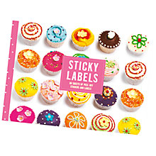 Buy Go Stationery Cupcake Sticky Labels Online at johnlewis.com