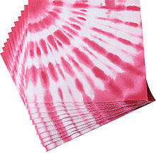 Buy LHR Tie Dye Paper Napkins, Pack of 20 Online at johnlewis.com