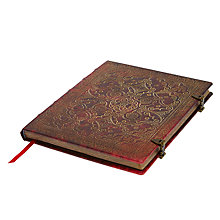 Buy Paperblanks Equinox Carmine Ultra Journal Online at johnlewis.com