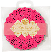 Buy Talking Tables Truly Scrumptious Mini Doilies, Pack of 100 Online at johnlewis.com