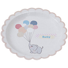 Buy Ginger Ray Little One Paper Plates Online at johnlewis.com