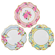 Buy Talking Tables Truly Scrumptious Paper Plates, Pack of 12 Online at johnlewis.com