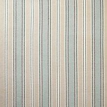 Buy John Lewis Oscar Stripe Fabric, Duck Egg, Price Band D Online at johnlewis.com