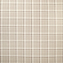 Buy John Lewis Glenshee Check Fabric, Natural Online at johnlewis.com