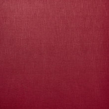 Buy John Lewis Henley Semi Plain Fabric, Coastal Red Online at johnlewis.com