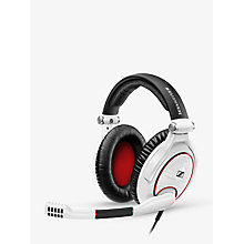 Buy Sennheiser GAME ZERO Gaming Headset with Microphone for PC & Mac, Black Online at johnlewis.com