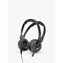 Buy Sennheiser HD 25-1 II On-Ear Monitoring Headphones, Black Online at johnlewis.com