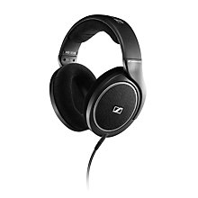 Buy Sennheiser HD 558 Full Size Headphones with E.A.R. Technology, Black Online at johnlewis.com