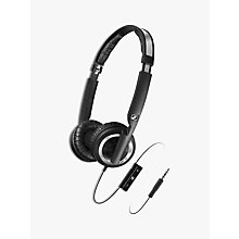 Buy Sennheiser PX 200-II i Dynamic Closed On-Ear Headphones with Mic/Remote Online at johnlewis.com