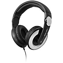 Buy Sennheiser HD 205 II DJ Over-Ear Headphones, Black Online at johnlewis.com