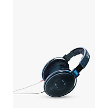 Buy Sennheiser HD 600 Full Size Headphones, Black Online at johnlewis.com