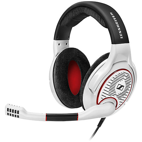 buy sennheiser game one gaming headset with microphone for xbox one ps4 white john lewis. Black Bedroom Furniture Sets. Home Design Ideas