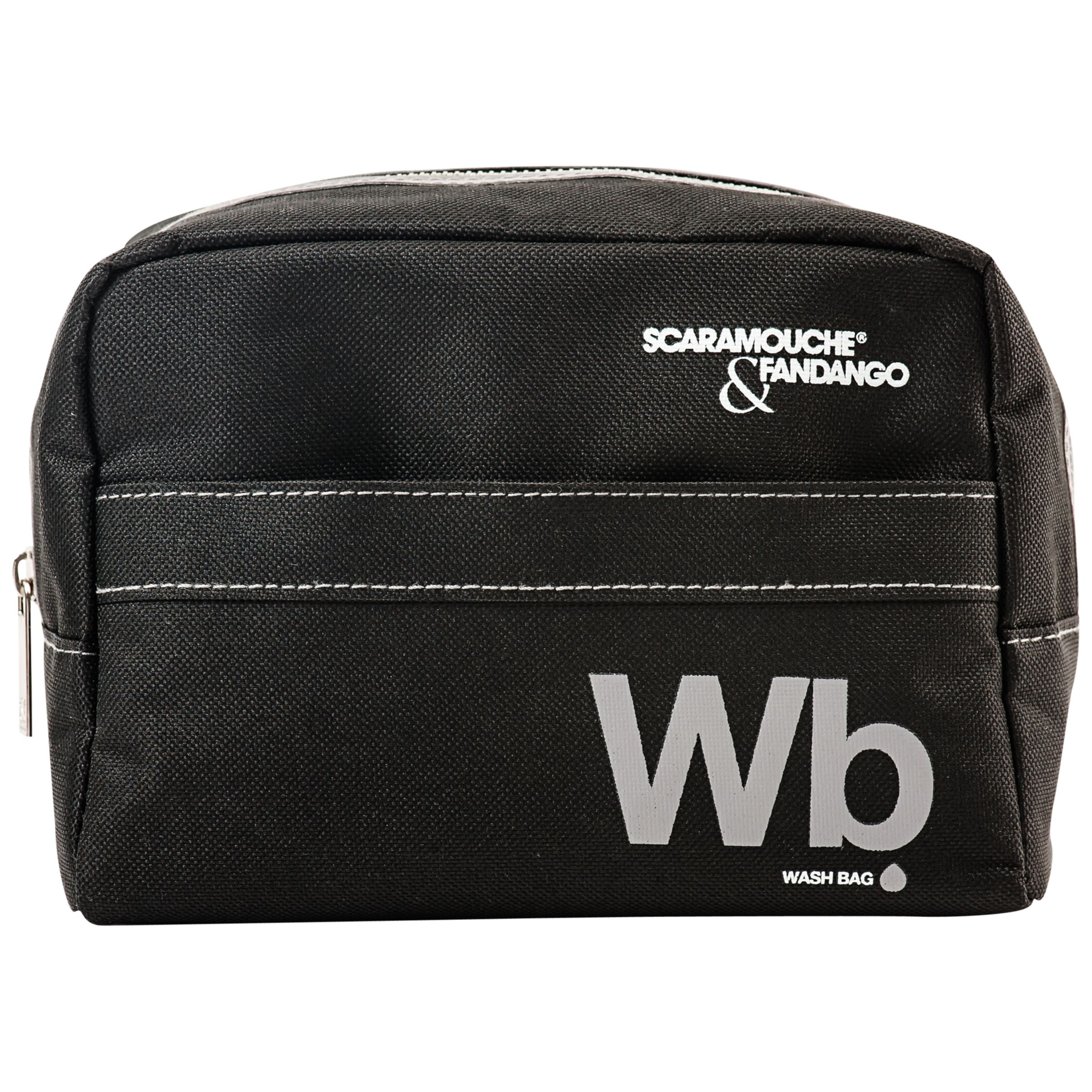 Scaramouche and Fandango Scaramouche and Fandango Grey Wash Bag