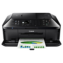Buy Canon PIXMA MX925 All-in-One Wireless Printer & Fax Machine, Black Online at johnlewis.com