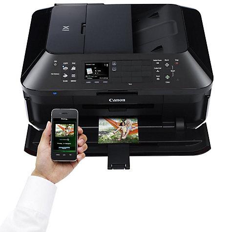 wireless printer and fax machine