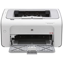 Buy HP P1102 LaserJet Pro Mono Laser Printer Online at johnlewis.com