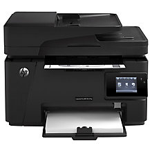 Buy HP LaserJet Pro MFP M127fw Wireless Mono All-in-One Laser Printer & Fax Machine Online at johnlewis.com