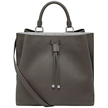 Buy Mulberry Kensington Small Classic Grain Leather Bag, Mole Grey Online at johnlewis.com