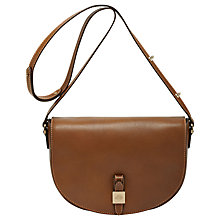 Buy Mulberry Tessie Leather Satchel Bag, Oak Online at johnlewis.com