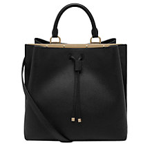 Buy Mulberry Kensington Small Classic Grain Leather Bag, Black Online at johnlewis.com
