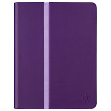Buy Belkin Stripe Cover for iPad Air & iPad Air 2, Purple Online at johnlewis.com