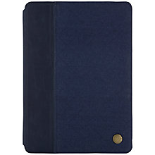 Buy Barbour Quilted Folio Case with Autowake Function for iPad Air 2, Navy Online at johnlewis.com