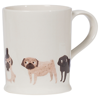 Fenella Smith Pug Mug, Large