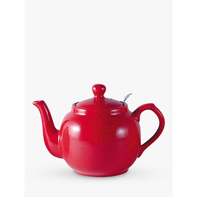 London Pottery Red Farmhouse Filter Teapot, 0.6L