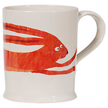 Buy Fenella Smith Hare Mug, Large Online at johnlewis.com
