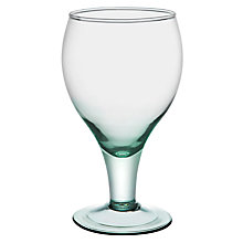 Buy John Lewis Recycled Wine Goblet, 400ml Online at johnlewis.com